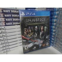 Injustice Gods Among Us Ultimate - Ps4 - Lacrado - Português