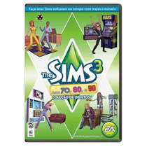 The Sims 3 Original - Coleção Objetos Anos 70 80 90 - Pc Dvd