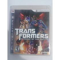 Transformers Revenge Of The Fallen Para Playstation 3