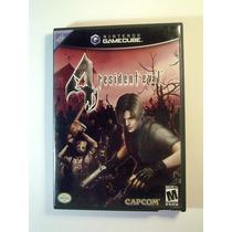 Resident Evil 4 Original Americano Gamecube Wii Frete Grátis