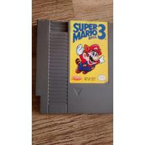 Super Mario 3 Nes Original 72 Pinos Nintendinho Americano