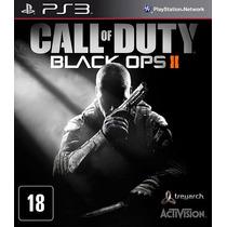 Jogo Call Of Duty Black Ops Ii 2 Mídia Física Original Ps3