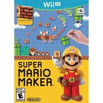 Super Mario Maker - Jogo Nintendo Wii U - Novo