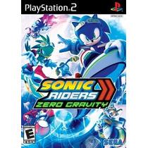 Sonic Riders Zero Gravity Ps2 Patch - Compre 1 E Leve 2
