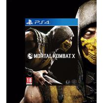 Mortal Kombat- Playstation-4-aproveitem Leilão A R$1,00 Real