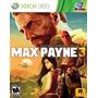Jogo Xbox 360 - Max Payne 3 - Novo