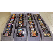 Jogo/fita/cartucho/jogos/ Super Nintendo/snes/originais-loja