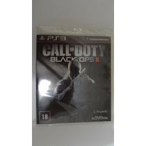 Call Of Duty Black Ops 2 Ps3 Novo E Lacrado