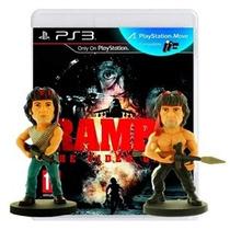 Jogo Novo Rambo The Video Game Edição De Colecionador Ps3