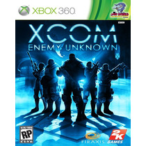 Jogo Xbox 360 - Xcom Enemy Unknown - Novo