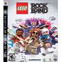 Jogo Lego Rock Band Ps3 Play 3 Original Lacrado Promoção