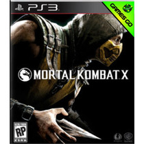 Mortal Kombat X 10 + Bônus - Ps3 Psn - Primária - Gamesgo