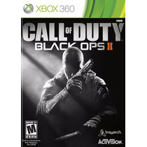 Call Of Duty Black Ops 2 Xbox360 - Original Codigo
