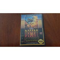 Caixa Original Desert Strike - Mega Drive (genesis)