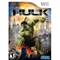 Jogo The Incredible Hulk Original Para Nintendo Wii A6352