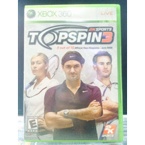 Jogo Topspin 3 Xbox 360, Original, Novo, Lacrado