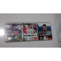 Jogos Ps3 Fifa 11, Pes 2011 E Pes 2008