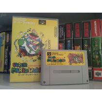 Cartucho Super Mario World Original Super Famicom Nintendo