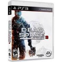 Dead Space 3 Edição Limitada Novo E Lacrado!!