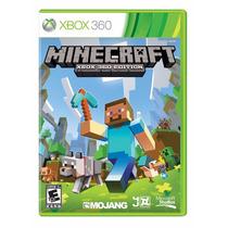 Jogo Minecraft - Xbox 360 - Midia Fisica Original Portugues