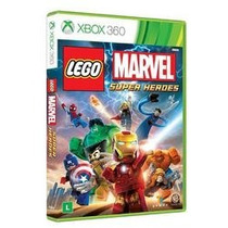 Game Lego Marvel Br - Xbox 360