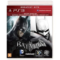 Combo Batman Asylum & City - Ps3 Mania Virtual