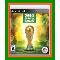 Copa Do Mundo Fifa 2014 Ps3 Novo