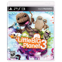 Little Big Planet 3 Ps3 Dublado Em Português Mídia Física