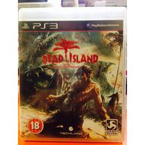 Jogo Dead Island Playstation 3, Jogo Físico. Terror/tiro