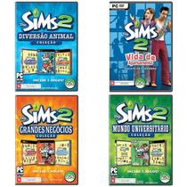 Coleção The Sims 2 Com 04 Jogos Para Pc