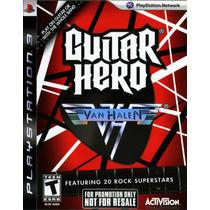 Guitar Hero Van Halen Frete Grátis Jogo Ps3 Sdgames Garantia