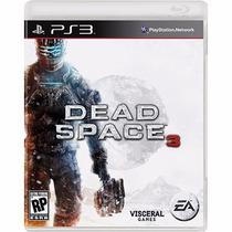 Dead Space 3 Ps3 Mídia Física Lacrado