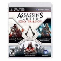 Assassins Creed Ezio Trilogy Ps3 Mídia Física + Brinde