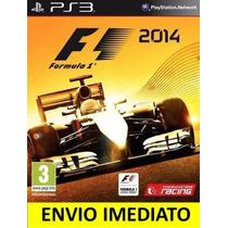 Jogo Psn F1 2014 Ps3 Digital Idioma Português Promoção