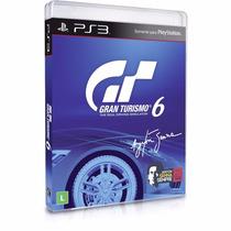 Game Ps3 Gran Turismo 6 Ayrton Senna Original Lavrado Leilao