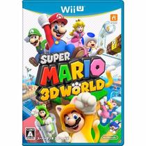 Jogo Super Mario 3d World Nintendo Wii U Lacrado