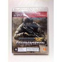Socom U.s Navy Seals Confrontation Ps3 - Novo - Lacrado