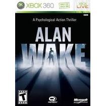 Jogo Xbox360 - Alan Wake (original/m. Física)