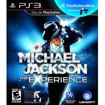 Jogo Ps3 Michael Jackson The Experience Original E Lacrado
