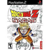 Dragon Ball Z Sagas Ps2 Patch Frete Unico