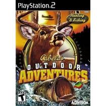 Jogos Ps2 - Cabelas Outdoor Adventures