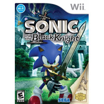 Sonic And The Black Knight Original E Lacrado Wii Rcr Games