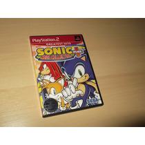 Ps2 - Sonic Mega Collection Plus (americano)