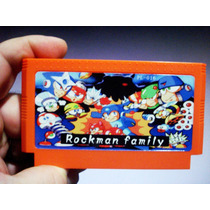 Rockman X Family 1 Ao 6 + Dash Nes Nintendo Megaman Raro