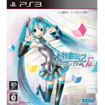 Jogo Hatsune Miku: Project Diva F 2nd - Ps3 Sega
