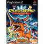 Digimon World Data Squad Ps2 Patch Com Capa E Impressão
