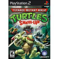 Patch Teenage Mutant Ninja Turtles Smash Up Ps2 Frete Gratis