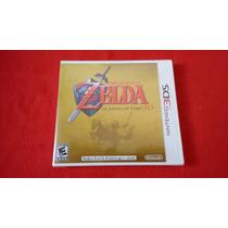 The Legend Of Zelda Ocarina 3ds Lacrado De Fábrica