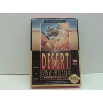 Desert Strike - Mega Drive - Americano - Novo