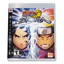 Naruto Ultimate Ninja Storm - Americano - Lacrado